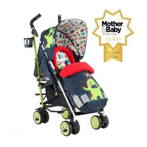 Cosatto Supa Stroller - Monster Arcade (plus others) - £161.99 inc next day delivery @ Kiddies Kingdom