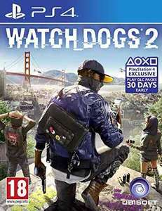 Watch Dogs 2 (PS4) £15.01 used like new @ boomerangrentals via amazon
