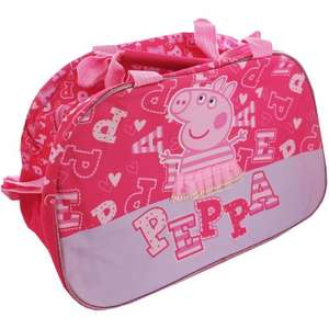 Large Peppa Pig bag £2.40 with code @ The works free c&c