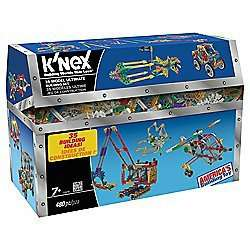K-nex 35 model set £12.50 was £25 @ tesco direct free c&c or amazon prime members free delivery link in comments