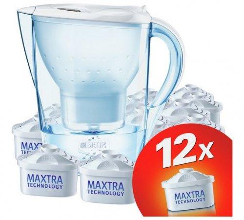 BRITA Marella Water Filter Jug + 12 Maxtra Cartridges - £31.99 with code @ Argos (Free C&C)