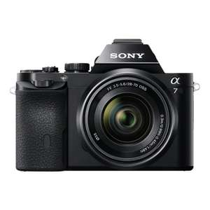 Sony alpha 7 (ILCE7KB.CE) Full Frame Camera with 28-70 mm Lens £799.99 @ amazon today deal