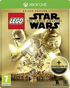 Lego starwars the force awakens steelbook edition includes season pass. XO and Ps4 £19.99 (Prime) / £21.98 (non Prime) at Amazon