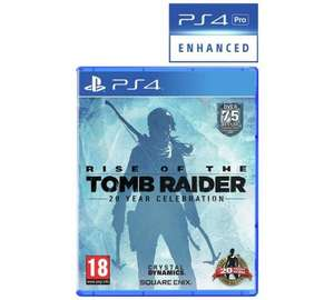 [PS4] Rise of the Tomb Raider 20th Anniversary - £19.99 - Argos