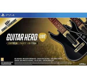 [Xbox One/PS4] Guitar Hero The Supreme Party 2 Guitar Edition - £19.99 - Argos