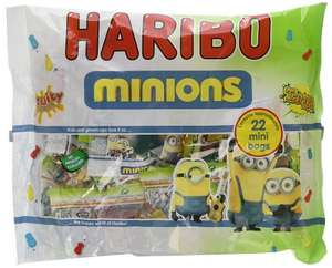 Minions Haribos 220 mini bags (approx) for £7.24 (Add on item) - Amazon
