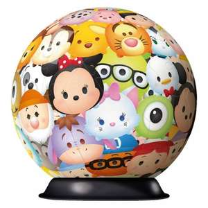 Ravensburger Disney Tsum Tsum, 72pc 3D Jigsaw Puzzle £2 (was £9.99) @ Smyths