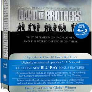 Band Of Brothers Blu-Ray £11.98 prime / £14.97 non prime @ Amazon