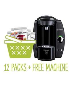 Tassimo Fidelia Bundle - includes machine - £53 @ Tassimo