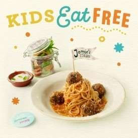 Kids Eat Free @ Jamie's Italian (plus a Tuesday Special for £5.00)