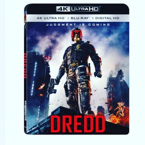 Dredd - 4K UltraHD Blu Ray (with Blu Ray and Digital HD) £17.48 (Pre-order - 06/06/17) @ Wow HD