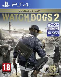 Watch Dogs 2 Gold Edition PS4 £24.50 / Xbox One £24.99 (Nordic) @ Coolshop