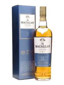 Macallan 12 y/o fine oak £40.82 whisky @ Amazon