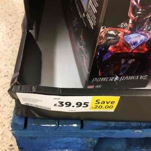 Power Rangers Movie Megazord £39.99 at Tesco instore