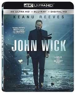 John Wick - 4K Ultra HD Blu-Ray (Instawatch, With Blu-Ray, Ultraviolet Digital Copy, 4K Mastering) - £13.67 at WOWHD