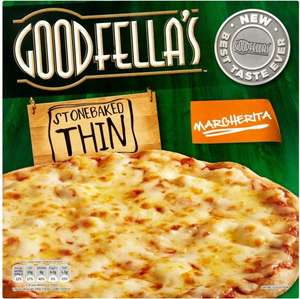 Goodfella's Stonebaked Thin Margherita Pizza (345g) was £2.00 now £1.25 @ Sainsbury's