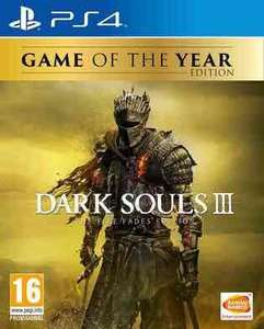 Dark Souls III: The Fire Fades Edition (Game of the Year Edition) (PS4/XB1) preorder £32.86 @ shopto