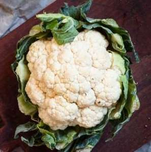Cauliflowers 29p - ALDI Super Six - 9/19 April - Also for 29p - Parsnips, Leeks, White Potatoes, Carrots and Broccoli