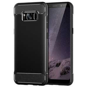 Free Samsung Galaxy S8/S8 Plus Shock absorption case worth £8.99 with qualifying purchase at Jetech on Amazon From £3.29