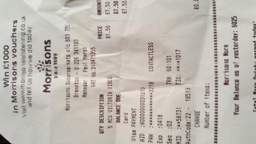 Morrisons (Brampton) McVities Victoria biscuits 650g £1.50