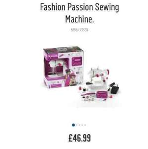 sewing machine kit TESCO EXTRA GILESGATE (County Durham) £7.49 instore