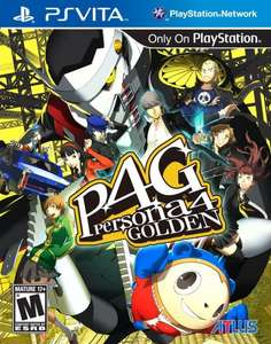 Persona 4 Golden PS Vita £3.99 @ PSN