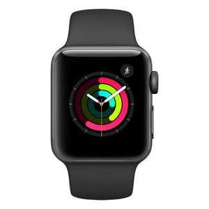Apple Watch S2 38mm Space Grey Aluminium Case with Black Sport Band £298 @ Jigsaw24