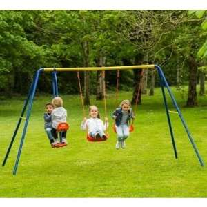 Delta Double Swing and See Saw Set now £39.99 delivered at Smyths Toys