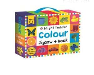Whsmith colours priddy jigsaw book and box set only £2.99 was £10.99 free c&c