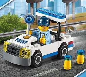 Offer Stack  - FREE Lego City Police Car + FREE VW Mini Beetle + Free Delivery wys £35 on Lego City @ The Lego Shop