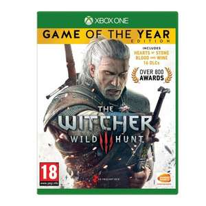 The Witcher 3: GOTY (Xbox One & PS4) - £24.85 Delivered @ Base