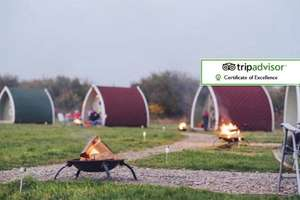 Family Glamping Break (sleeps 4) at Stanley Villa Farm near Blackpool 1 night £39 / 2 nights £49 at Wowcher