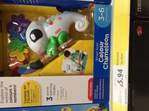 Fisher price colour chameleon £5.94 Tesco instore