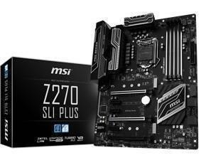 MSI Z270 SLI PLUS (w/ FREE Cooler Master Seidon V3 120mm Liquid Cooler) for £133.60 @ Novatech