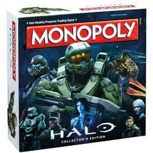 Monopoly Halo / Ghostbusters / Nintendo / BFG / Warcraft - £17.99 Each - IWOOT (and more)