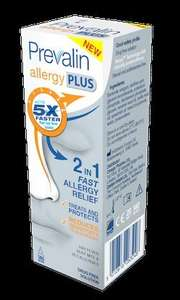 Prevalin Allergy Plus Nasal Spray 2 for £9 @ Superdrug online / instore
