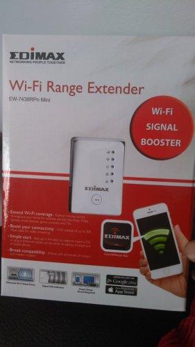 Edimax EW-7438RPn mini Wi-Fi extender £1 instore @ B&M