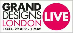 FREE £14+ Grand Designs Live Tickets (with code)