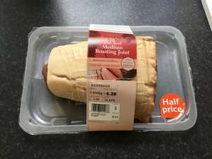Tesco beef roasting joints £5 per KG,in store and online @ Tesco