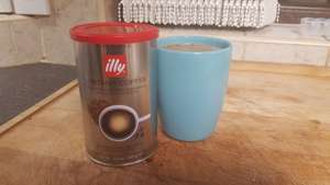 Illy instant coffee 100g reduced £5.75 to £1.44 instore @ Tesco