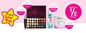 Superdrug Weekly Star Buys fragrances etc as much as 50% reduction & Free Tote Bag with Selected 3 for 2 Cosmetics.