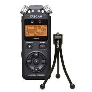 Tascam DR-05 V2 With Flexi Mini Tripod - £66 @ Music Matter