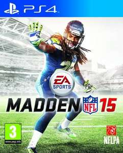 Madden NFL 15 (PS4) £3.99 Delivered @ Argos via eBay