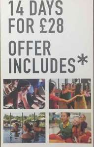 david lloyds 14 day trial offer - £28