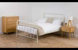 Yvonne king size bed ivory was £159 now £96 @ George Home