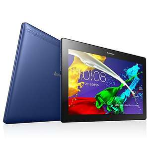 Lenovo Tab 2 A10-70F Full HD, 16Gb storage ,2GB RAM, Dolby Atmos Sound - Midnight Blue or Pearl White - £129.95  + Free case  worth £29.99 @ John Lewis