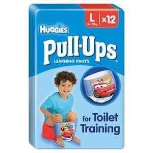 Huggies Pull Ups Size XL/6  Boy Potty Training Pantsx12 £2.71 @ Superdrug