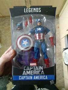 marvel legends figure captain America​ £6.99 home bargains - Morecambe