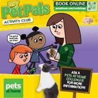 FREE Kids Workshops over Easter @ Pets at Home