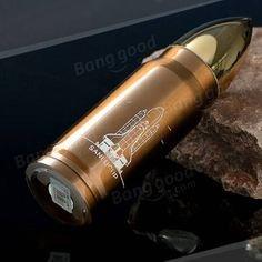 Stainless Steel Bullet Vacuum Flask £5.86 @ Banggood